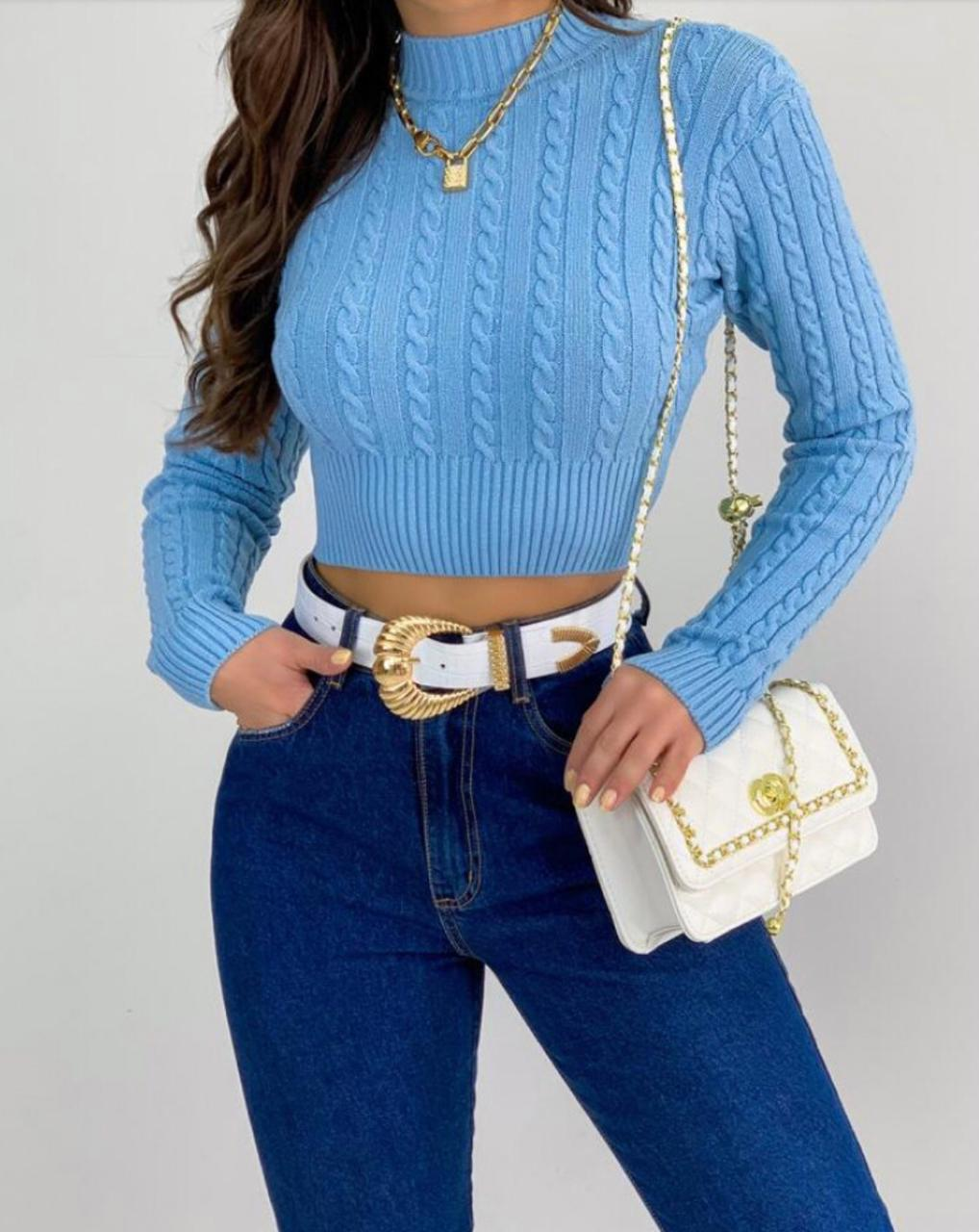 CROPPED TRICOT CACHARREL