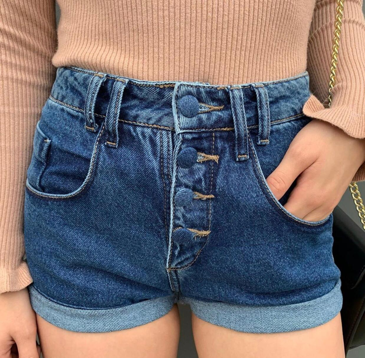 SHORT JEANS MOM